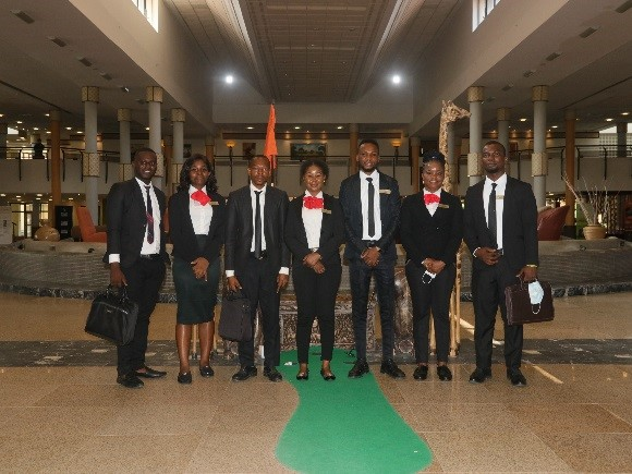 A cross section of the ICON Management trainees