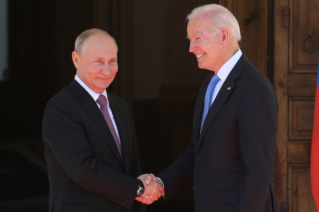 Putin, Biden in Geneva on Wednesday