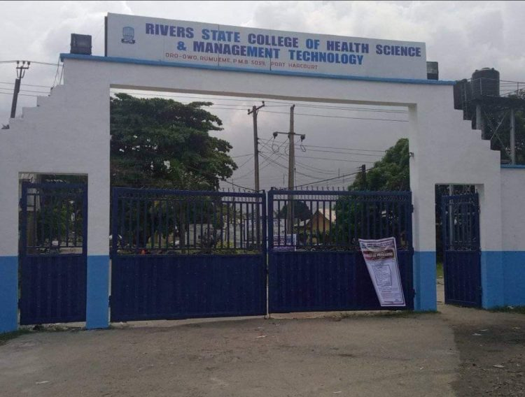 Rivers State College of Health Sciences and Management Technology
