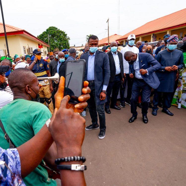 The dancing governor: How Sanwo-Olu celebrated 56th birthday