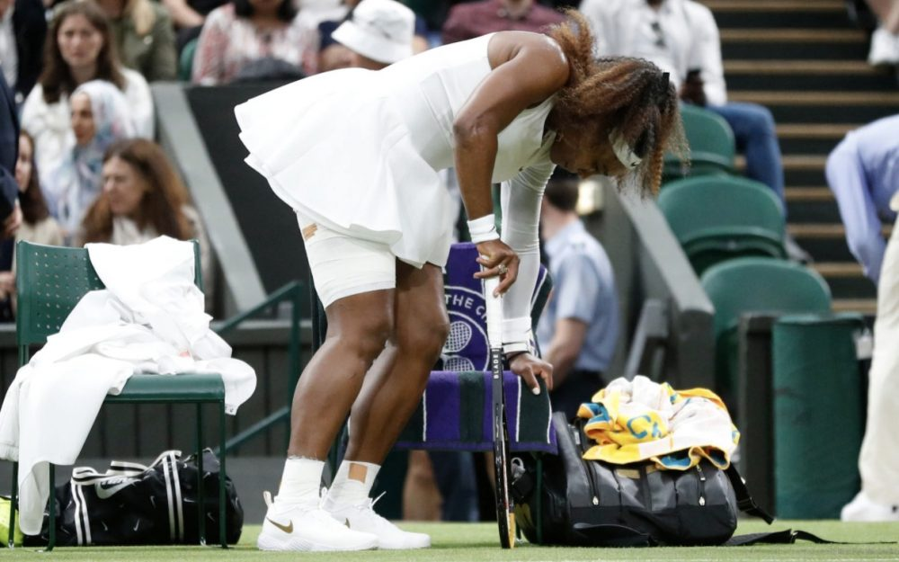Serena Williams retires at Wimbledon because of ankle injury