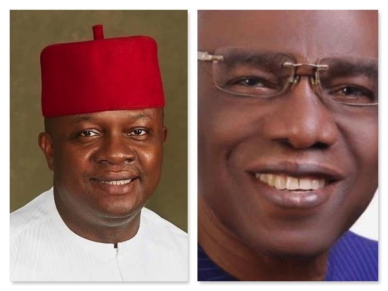 Valentine Ozigbo and Ugochukwu Uba, all PDP candidates in Anambra