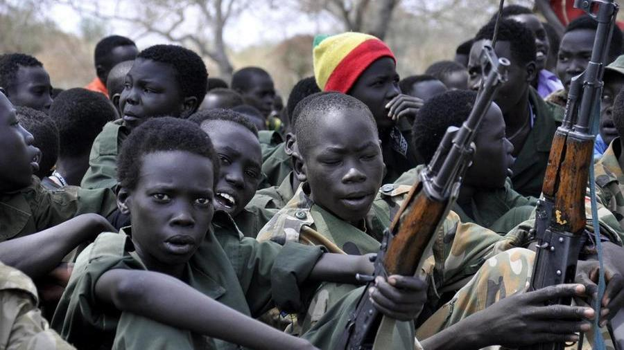 illustration- Child soldiers carry out massacre in Burkina Faso