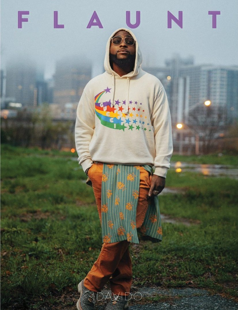 Davido Shines Bright on the Cover of Flaunt Magazine