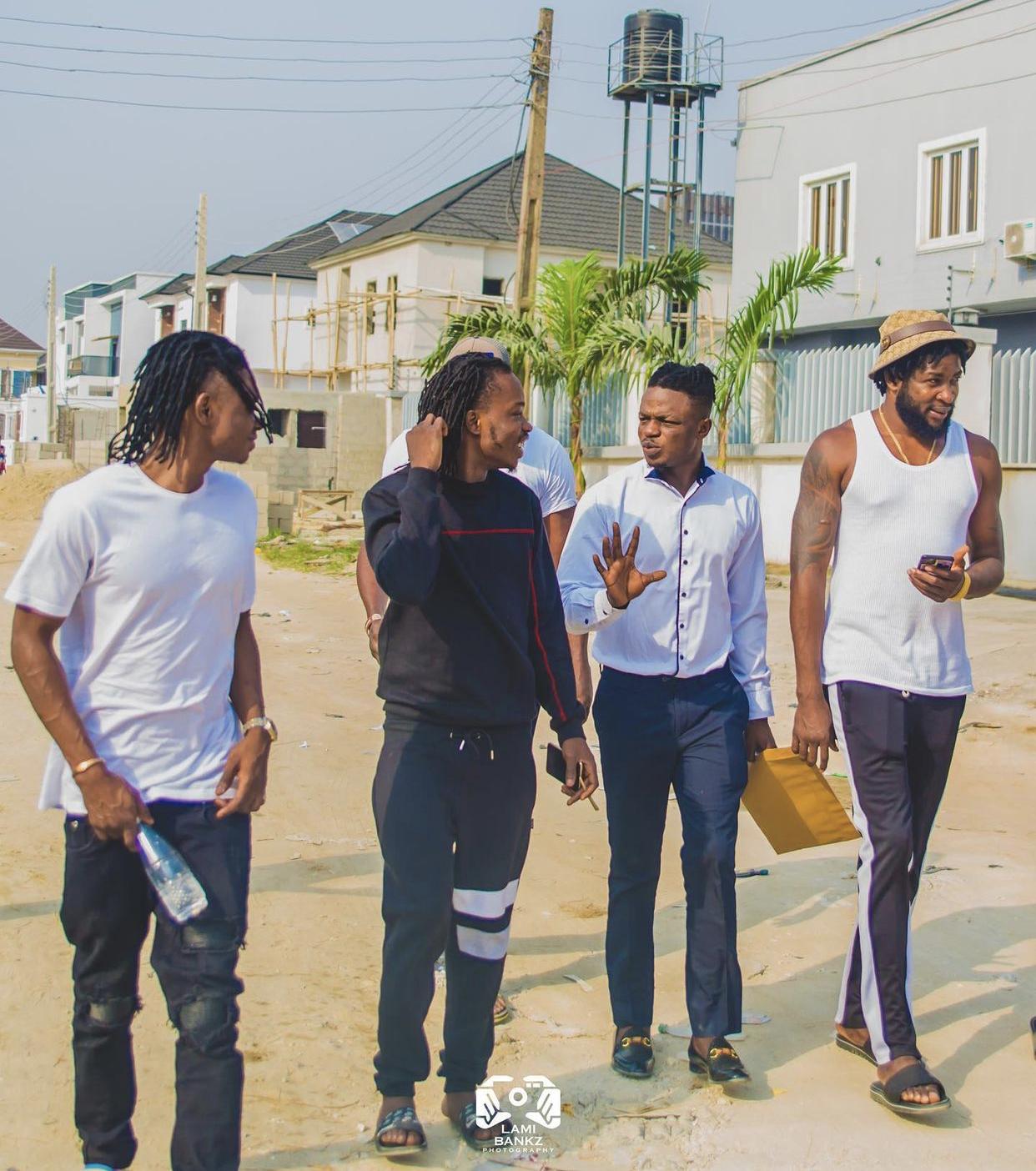 Lil Kesh, Naira Marley, Lami Bankz and Abu Abel