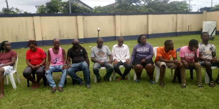 27 deadly kidnappers busted in Rivers, guns, others recovered