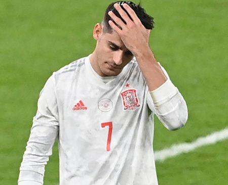 Alvaro Morata fails Spain in spot kick