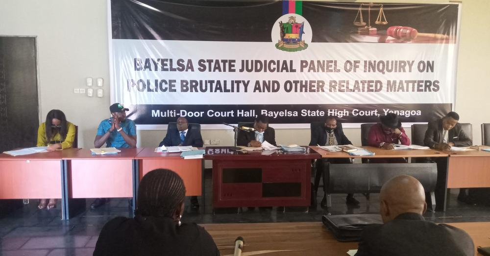 Bayelsa Judicial Panel on #EndSARS