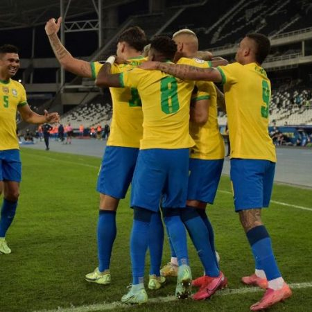 Brazil rejoice movin to next round of Copa America