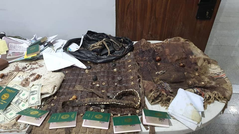 Bullet proof vests recovered in Igboho's house