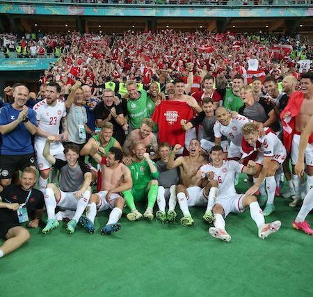 Team Denmark: first semi-final in 29 years