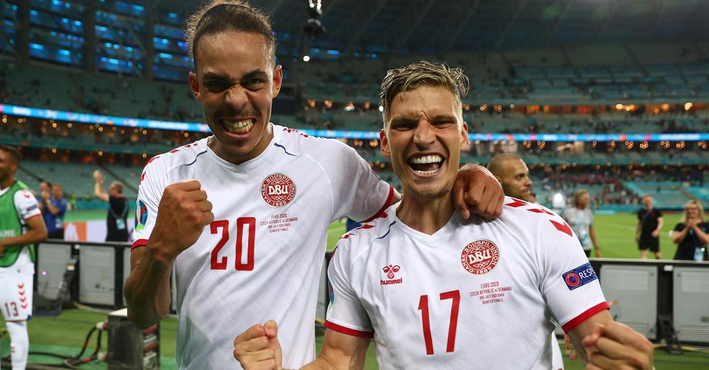 Denmark march on to Euro 2020 semi-finals