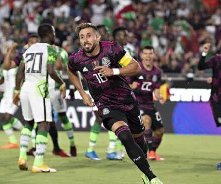 Mexico defeates Super Eagles 4-0