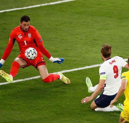 Harry Kane's goal that triggered the goal rain against Ukraine