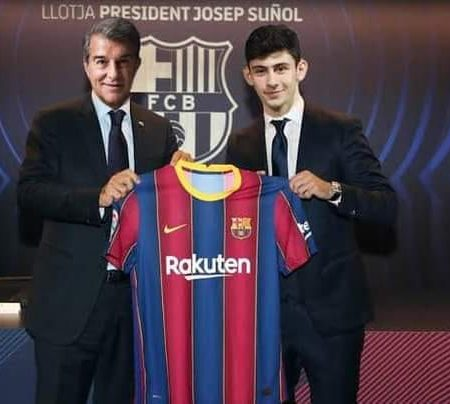 Yusuf Demir the Austrian Messi, right on loan to Barcelona