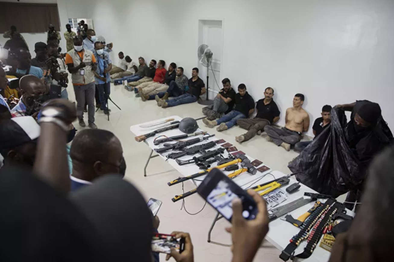 all the arrested suspects linked with killing of Haiti President Jovenel Moise