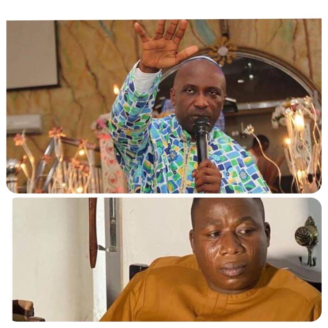 Primate Ayodele and Sunday Igboho