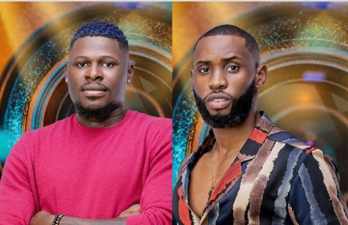 Niyi and Emmanuel BBNaija housemates