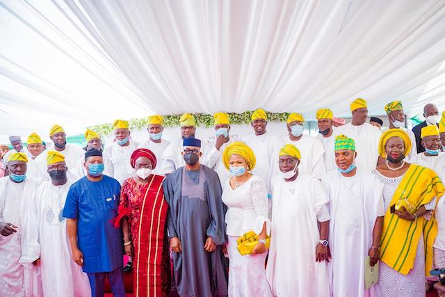 Abiodun and the council chairmen