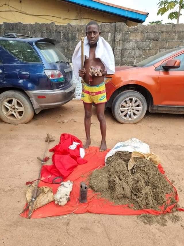 Benneth Okoli: IPOB/ESN arrested with explosive device