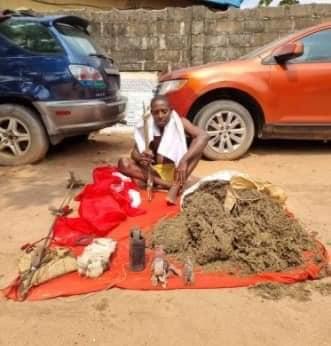 Benneth Okoli: ESN/IPOB Juju doctor arrested with bomb