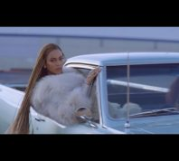 Beyonce in the music video Formation