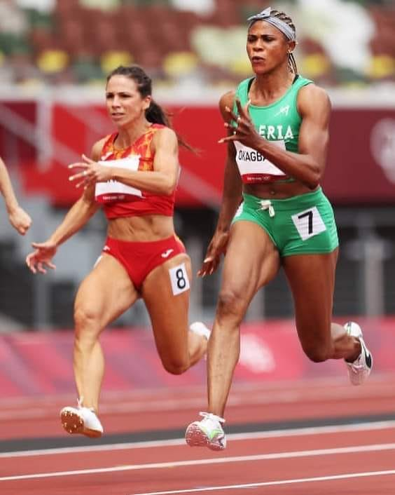 Blessing Okagbare makes 100m semi-finals in Tokyo Olympics