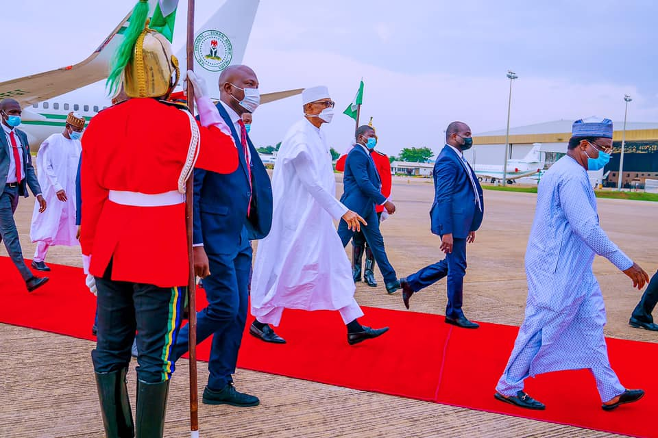 Buhari leaving Katsina on Friday