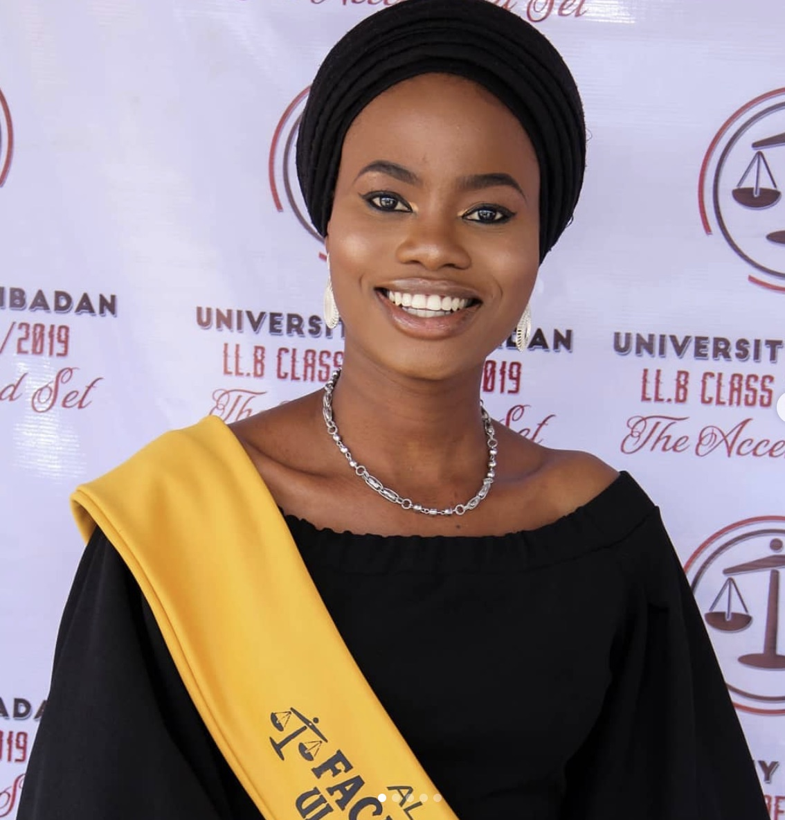 Bukola Fatima Alada, when she graduated at UI
