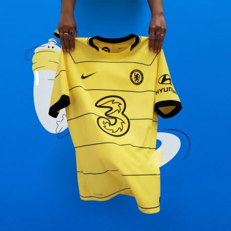 Chelsea's away kit