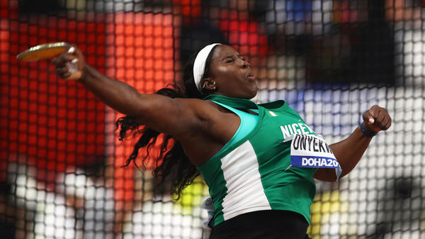 Chioma Onyekwere heartbroken over her disqualification in the Olympics
