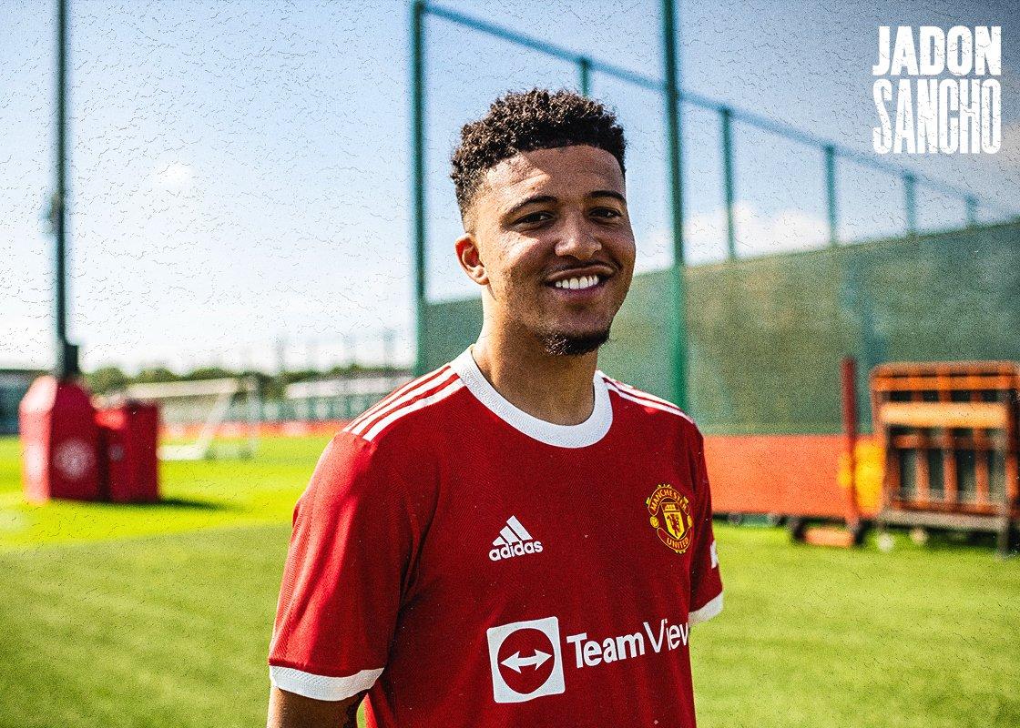 Manchester United complete signing of Jadon Sancho