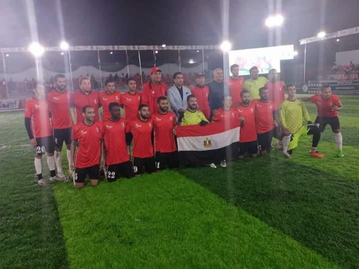 Egypt wins 2021 African Minifootball Cup
