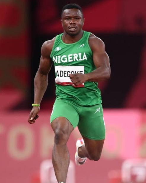 Enoch Adegoke makes Olympic 100m final