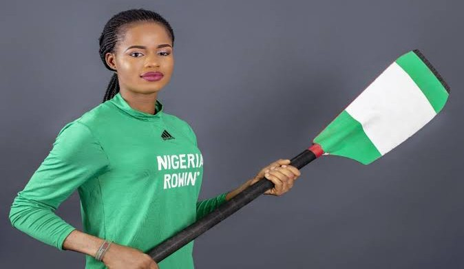 Nigeria's Toko misses out on quarter-finals in rowing competition