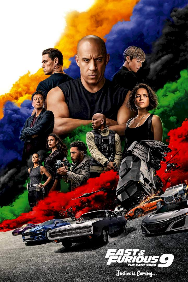 Fast and Furious 9 The Fast Saga poster