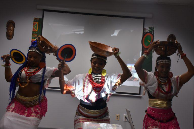 Hausa-Fulani dance troupe