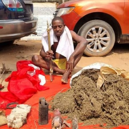 49-year-old herbalist arrested for preparing charms for IPOB members