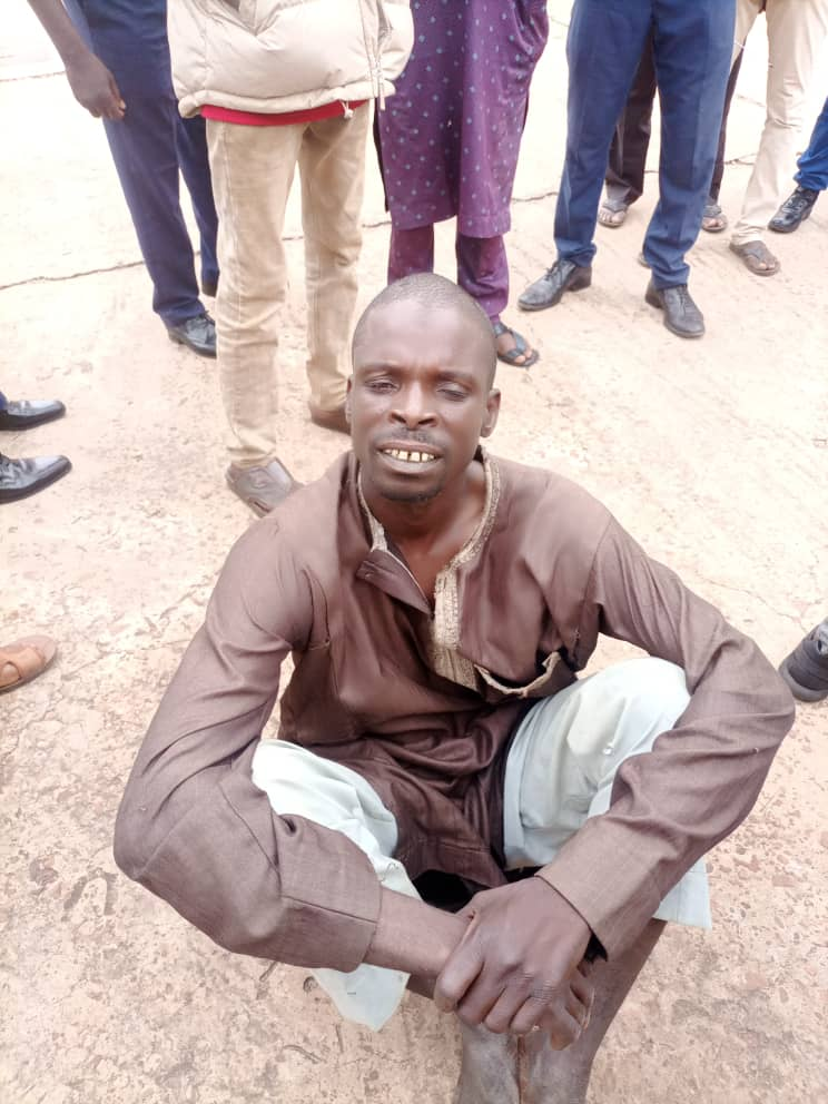 NSCDC arrests suspected bandit, Bello Galadima on wanted list in Sokoto State.