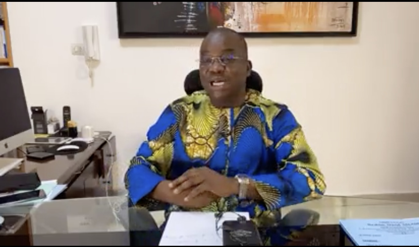 Ibrahim Salami, Igboho's lawyer in Benin Republic