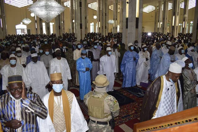 Inside the Bamako Great Mosque where the knife attack happened