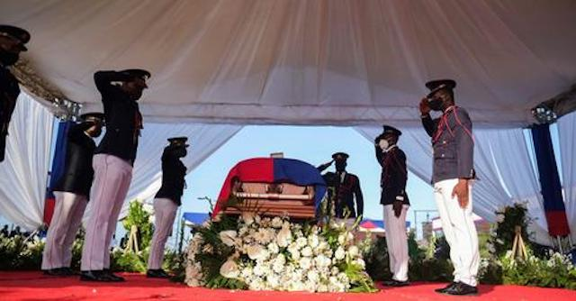 Jovenel Moise's body arrives in his hometown of Cap-Haitien for private burial