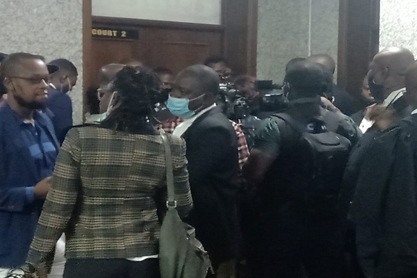 Nnamdi Kanu: Lawyers and journalists locked out of Justice Binta Nyako's court