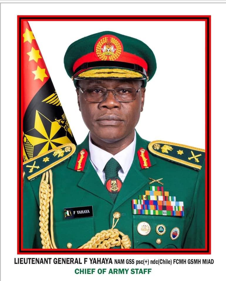 Lt. General Faruk Yahaya