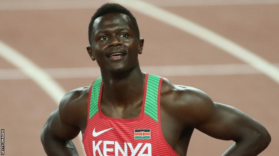 Mark Odhiambo suspended for doping