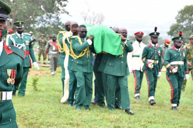 Military honours for slain Maj. General Hassan Ahmed