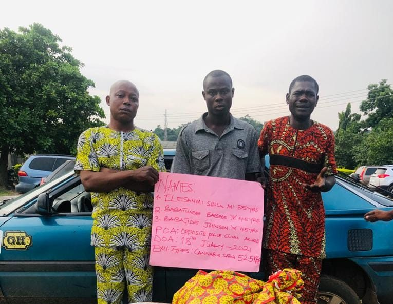NURTW chairman, 3 others arrested for drug trafficking in Ondo, Benue