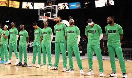 Nigeria's Olympic Basketball team D'Tigers face Australia today