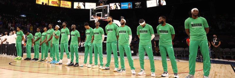 Nigeria's Olympic Basketball team