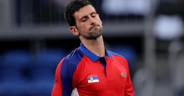 Novak Djokovic: inconsolable after losing men's singles in the semi-final